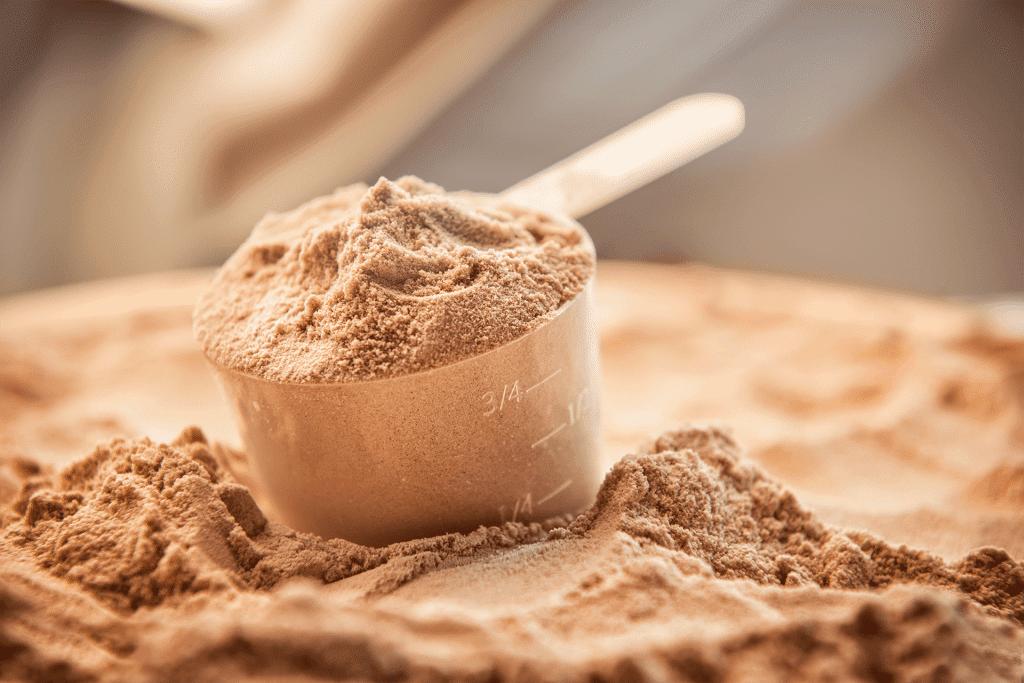 La proteine en poudre, un bruleur de graisse efficace