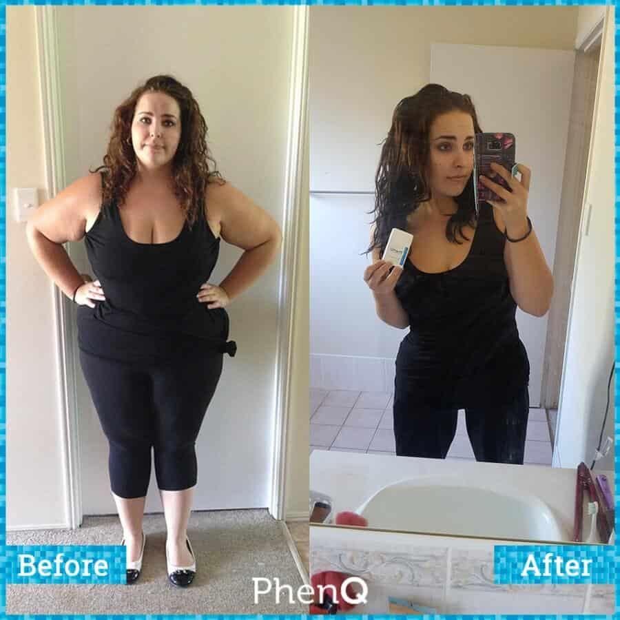 PhenQ : Avant / Après - transformation physique