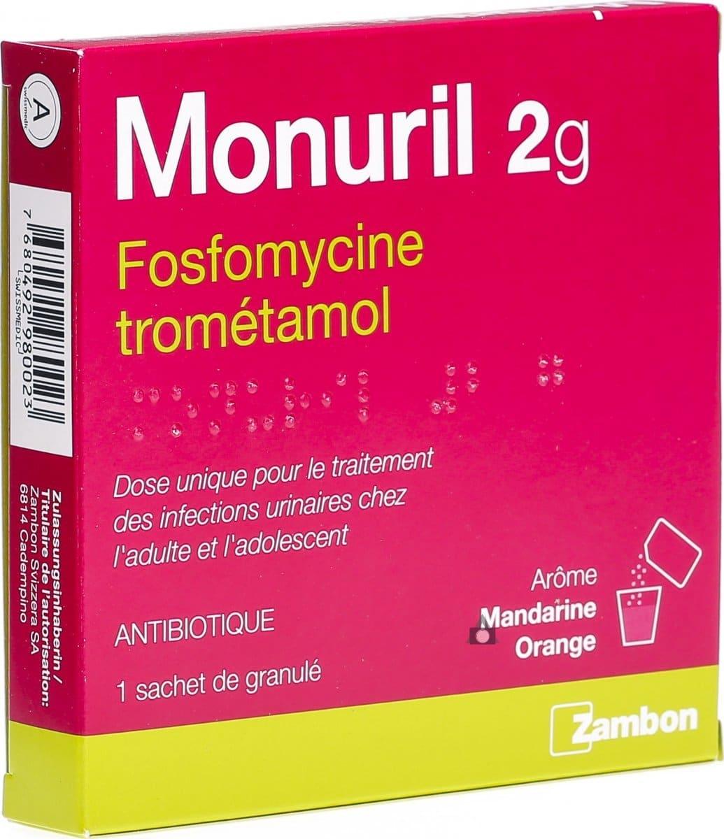 médicament infection urinaire sans ordonnance